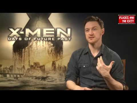 X-Men Days of Future Past Interview - James McAvoy | MTW