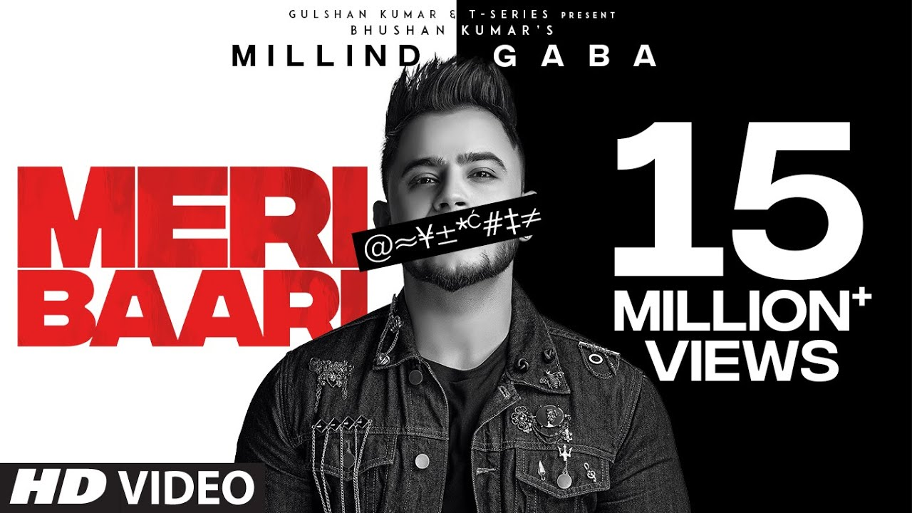 Meri Baari Song Lyrics in Hindi – Millind Gaba
