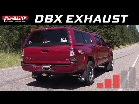 2005-12 Toyota Tacoma 4.0L, Flowmaster dBX Series Exhaust System 819144