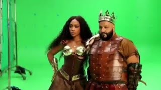 DJ KHALED AND SZA BEHIND THE SCENES OF 'JUST US' FATHER OF ASAHD ALBUM