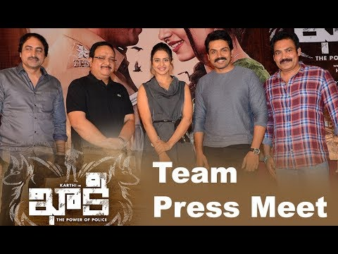 Khakee Movie Press Meet