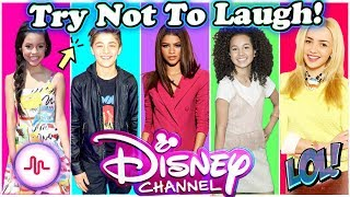 Try Not To Laugh Or Grin Challenge Disney Stars Edition | Funniest Disney Stars Musical.ly 2017