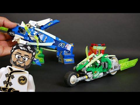 Vidéo LEGO Ninjago 71709 : Les bolides de Jay et Lloyd