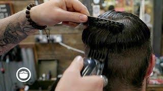 British Barber Fades Hair The American Way