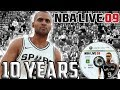 Nba Live 09: 10 Years Later The 1 Basketball Game Of It