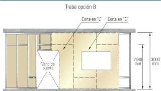 INSTALACION PLACAS Superboard Y GYPLAC