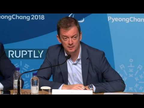 LIVE: Final press conference ahead of PyeongChang Paralympic Games end
