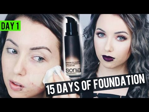 NEW SONIA KASHUK SOFT FOCUS Foundation {Review & Demo} 15 DAYS OF FOUNDATION