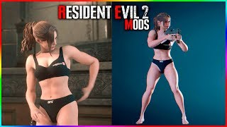 Resident Evil 2 Claire Fighter Mod