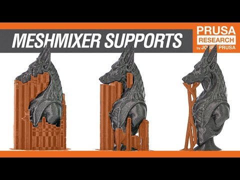 How to create custom supports in Meshmixer