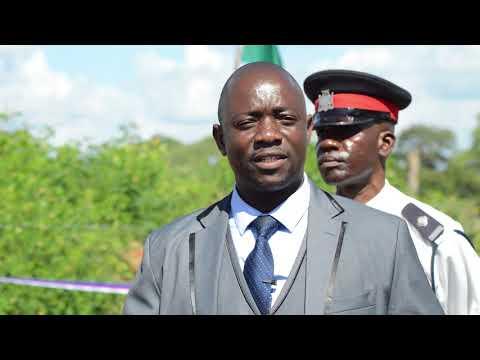 Video s reportáží ze slavnostního předání rekonstrukce hráze v Siggubu, okres Monze, Jižní provincie, Zambie