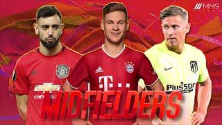 Top 10 Midfielders in Football 2021
