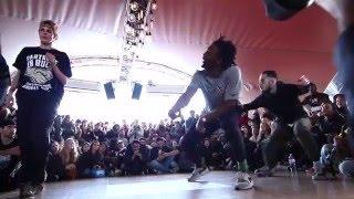 Juste Debout Paris 2016   Hip Hop   Waydi & Rochka     Top 32 Battles