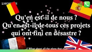 What About Us ? - P!nk - HOMMAGE Attentats - TRADUCTION