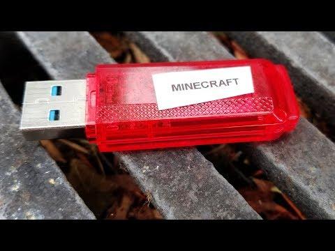 I found someone's Minecraft USB