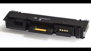 Xerox B205 / B215 / Xerox B210 How to refill toner cartridge 106R04348 / 106R04347
