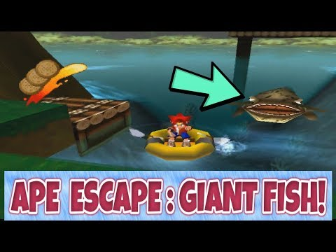 Childhood Scares #4 - Giant Fish in Ape Escape