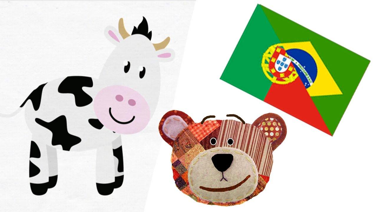 Portugués para niños - Animales de la granja