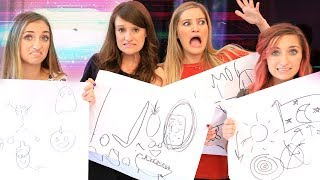 🎨 Pictionary Challenge with Brooklyn and Bailey!