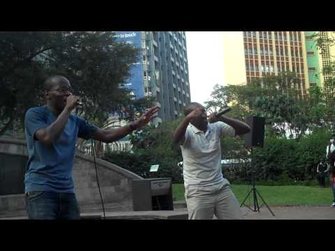 Xpo and Jahxo performing bring the truth back at madlove lounge(Docamor TV)