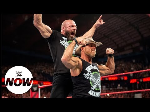 Download Shawn Michaels ends retirement to reform DX: WWE Now HD Mp4 3GP Video and MP3