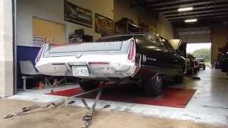 1972 Chrysler Imperial on the dyno part 1