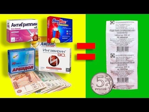 ТОП!6 дешевых лекарств от простуды, которые заменят дорогие