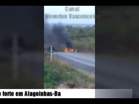 Assalto a carro forte em Alagoinhas-Ba