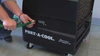Set up instructions for Portacool Cyclone 2200