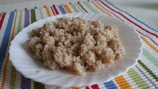 Рассыпчатая ячневая каша, классический рецепт приготовления