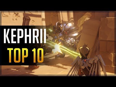 [Overwatch] Kephrii - Top 10 (Ft. A Lot Of People)
