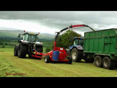 """Trialling the NEW Lely """"Storm"""" Forager."""