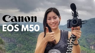 CANON M50 📷 BEST VLOGGING CAMERA 2018