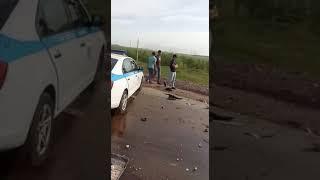 Темиртау - Караганда  ДТП VID 20180712 WA0001