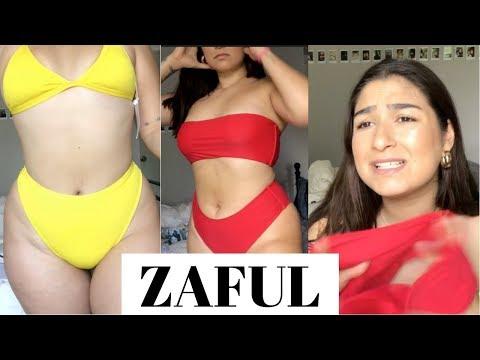 ZAFUL FOR CURVY GIRLS!? BIKINI TRY-ON HAUL