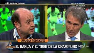"""¡VAYA ZASCA de JUANMA a LOBO! """"La ESTACIÓN del Barça es la 'ARRIVEDERCI ROMA'"""""""
