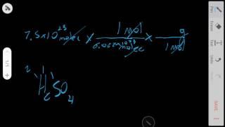 Conversion Of Grams, Moles, And Atoms