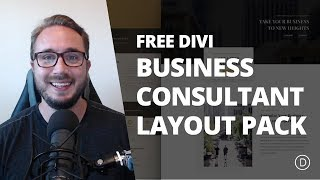 Get an Exceptional Business Consultant Layout Pack for Divi | Kholo.pk