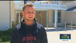 Arroyo Grande native Garrett Owens prepares for 2018 NFL Draft