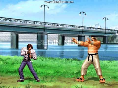【KOF MUGEN】Kyo Kusanagi NESTS VS Clark, Daimon, Orochi Yashiro