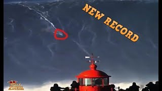 New World Record - Biggest Wave Ever Surfed - 80 foot