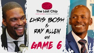 Chris Bosh & Ray Allen Talk Game 6 of the Heat Spurs 2013 Finals    The Last Chip