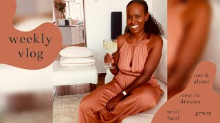 DRESSES IM LOVING & A MINI HOME HAUL | Nelly Mwangi