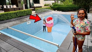 OUR NEW SWIMMING POOL!! - Video Youtube