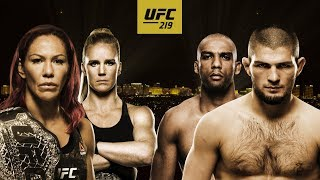 UFC 219: Cyborg vs Holm - Conteo Regresivo