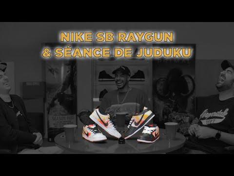 Présentation des Nike SB Raygun & séance de Juduku