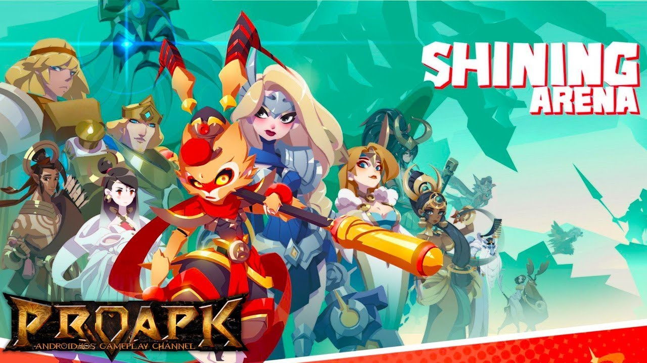 Shining Arena Gameplay Android Ios Moba 4v4 Cbt