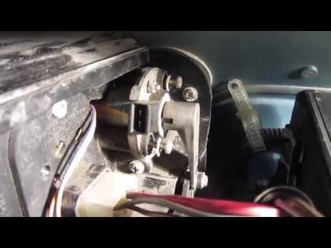 Не греет печка на ВАЗ 2110? Замена моторедуктора заслонки отопителя