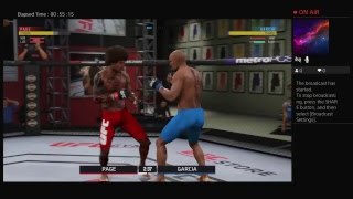 Running Fades on UFC | UFC 3 Gameplay