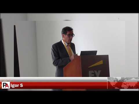 Conferencia Internacional de Hidrocarburos: Igor Salazar, pdte. del sector hidrocarburos de la SNMPE
